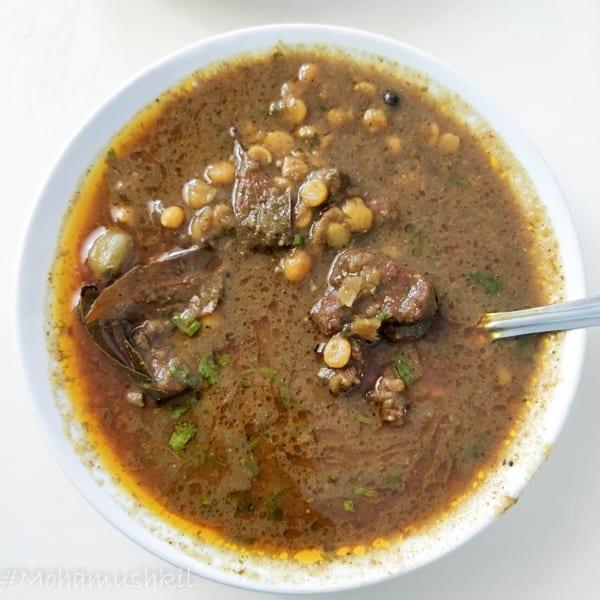 Dal Gosht at Sabir