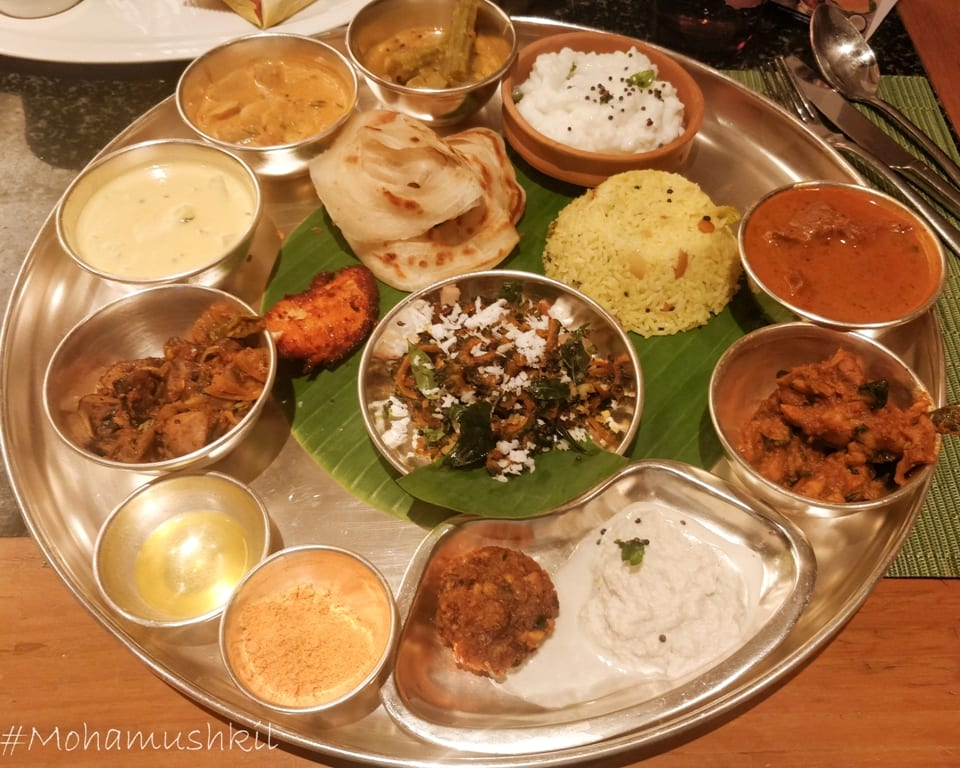 The regional influence in tamil food and its variations