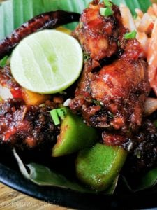 Tandoori chilly chicken