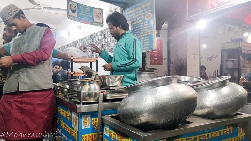 Muradabadi Biryani Stall