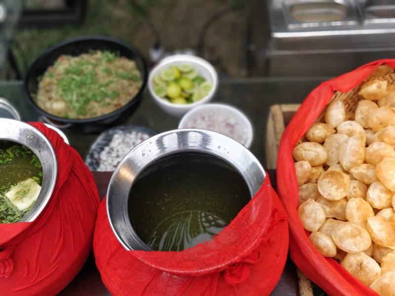 brunch at vedic village