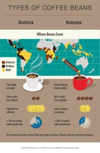 where-different-types-coffee-beans-grown-world-map-infographic