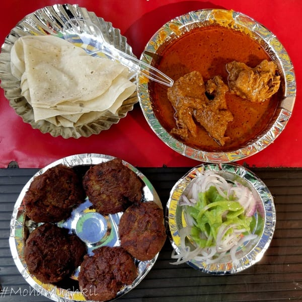 food at Matka peer dargah